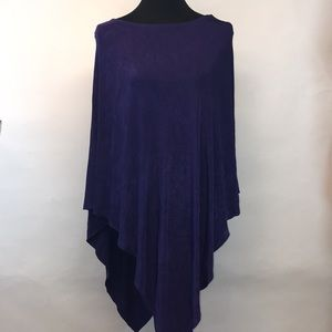 Chico's poncho.  Size large